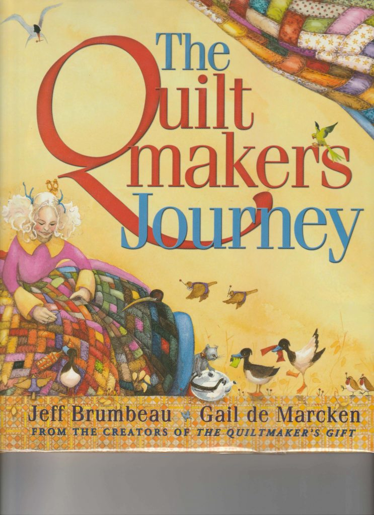 This image has an empty alt attribute; its file name is Quiltmakersjourney-743x1024.jpg